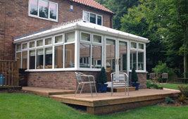 edwardian style conservatory roof