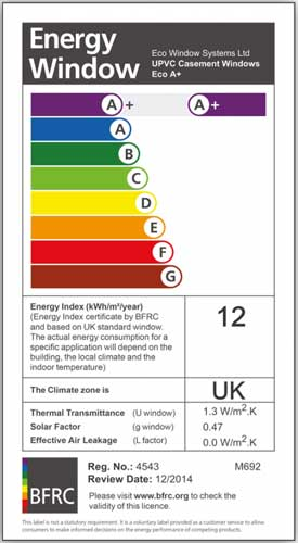 Energy rated Norwich window company in Norfolk