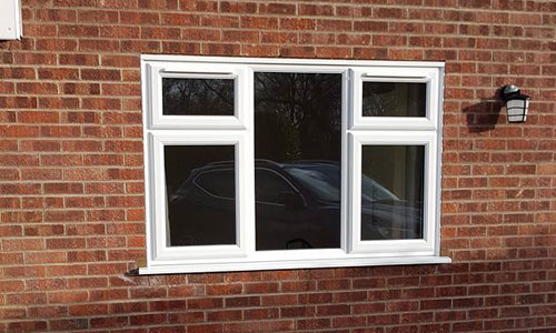 upvc fitted window
