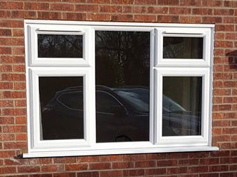uPVC fitted window in Norwich