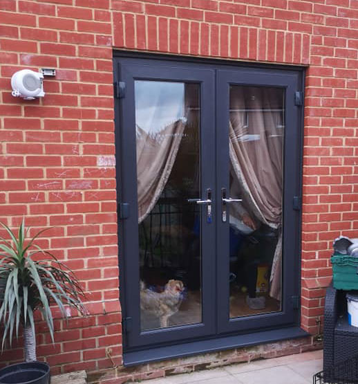 french doors fitted by NC Windows