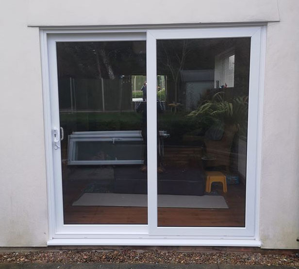 sliding patio doors fitted