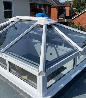 orangery glass roof lantern